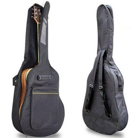 41'' Full Size Padded Protective Acoustic Guitar Back Bag Carry Case